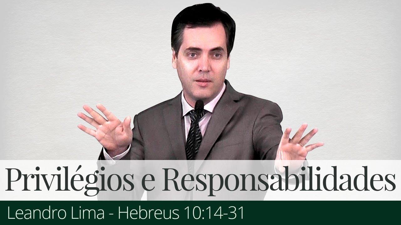 Privilégios e Responsabilidades da Nova Aliança - Leandro Lima