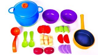 Cooking Food with New Sprouts Playset for Kids