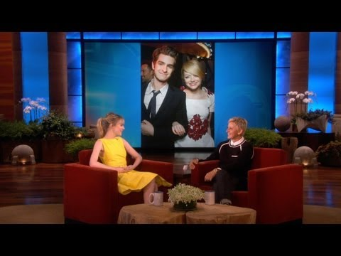 Emma Stone on Co-Star Andrew Garfield