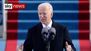 Joe Biden: 'I will be a president for all Americans'