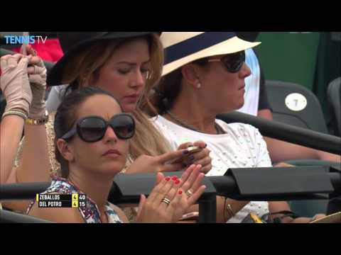 Zeballos Surprises del Potro In Miami 2016 Friday Highlights