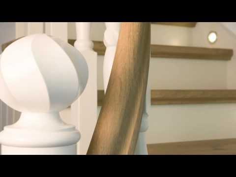 sch ne treppen von stockhausen holztreppen youtube. Black Bedroom Furniture Sets. Home Design Ideas
