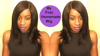 My First Homemade Wig