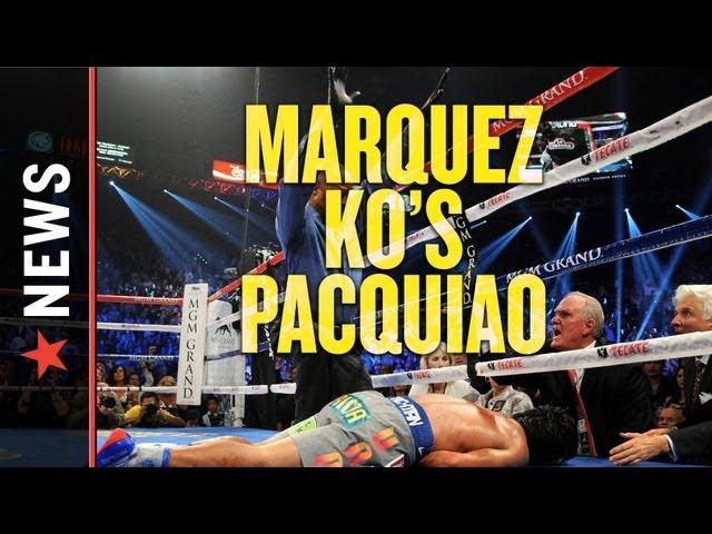 Pacquiao vs. Marquez 4 Results: Pacquiao KO'd