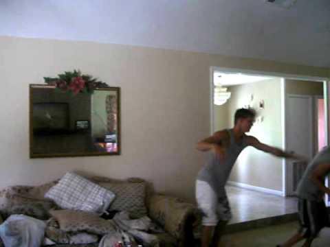 boy gets wedgie when wrestling Video