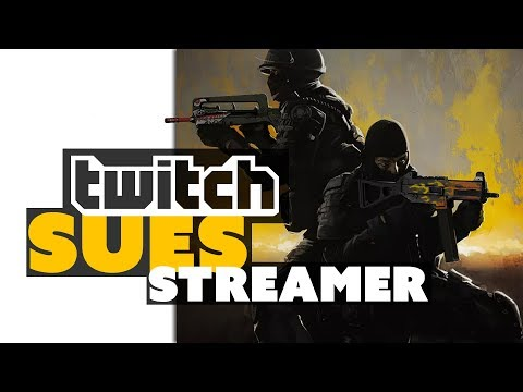 Twitch SUES Streamer! - Game News