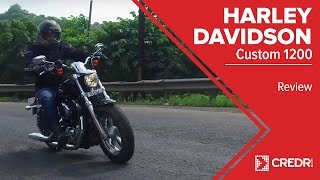 Harley Davidson 1200 Custom Review: A Very Stylish Sportster || CredR