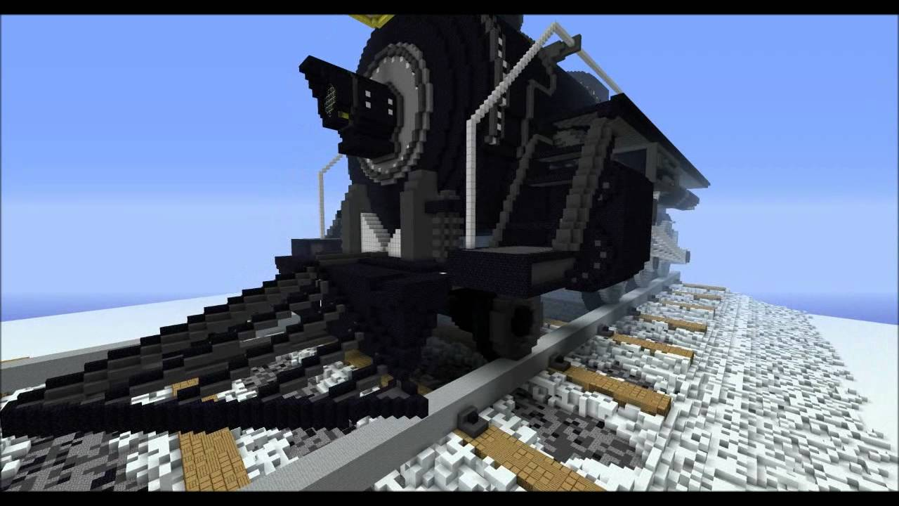 How Do You Build A Minecraft Train