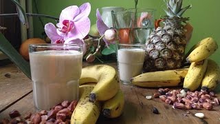 Ananas~Erdnuss-Bananenschmusi