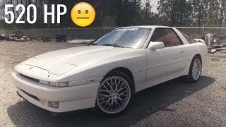 520 HP 1JZ Mk3 Toyota Supra Review! - Speed and Sophistication