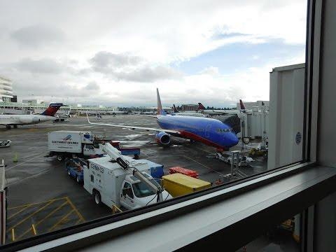 Southwest Airlines Full Flight BWI-SEA