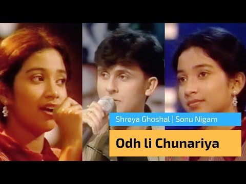Rare Video : Odh li Chunariya by Shreya Ghoshal in SA RE GA MA | Ticket to Finale | Sonu Nigam