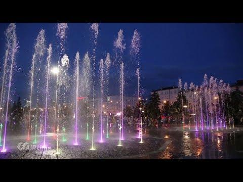 поющий фонтан в Перми - YouTube