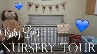 BABY BOY NURSERY TOUR 2018!