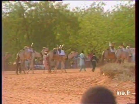 Seyni Kountché- Mitterrand Au Niger