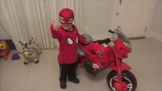 Moto do Homem Aranha - Spiderman's motorcycle