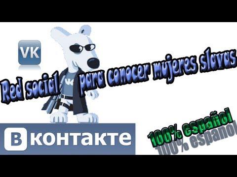 Red social vkontakte para conocer mujeres de Rusia y Ucrania