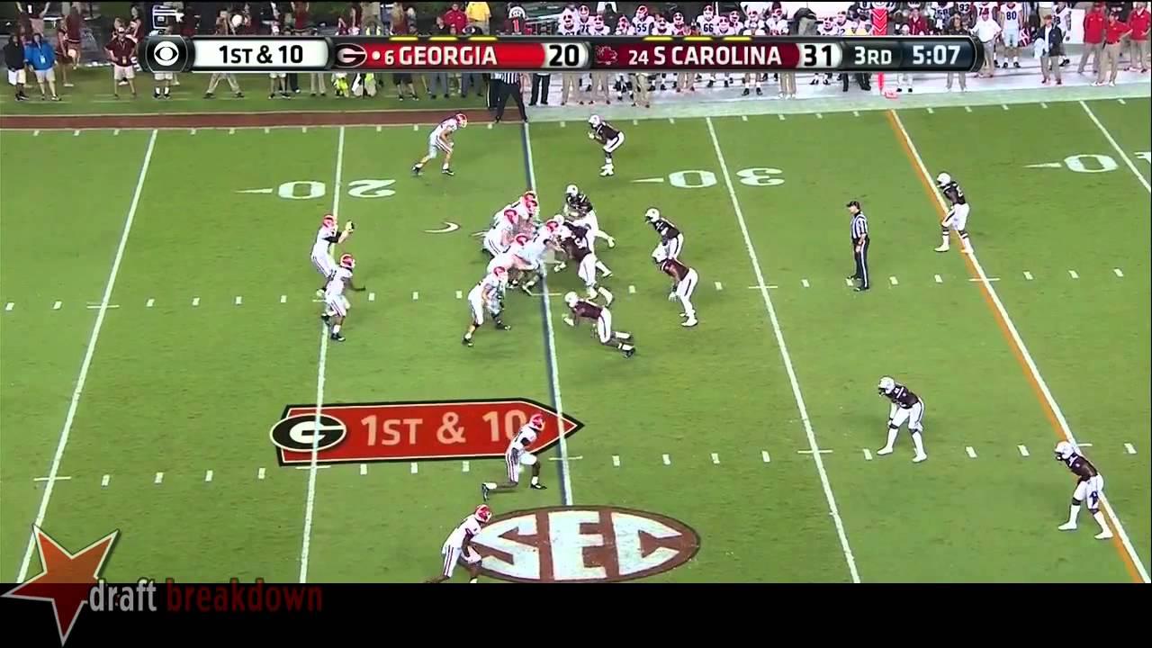 Hutson Mason vs South Carolina (2014)