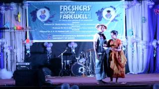 Ramp show at freshers reception 2k16,isrt,du