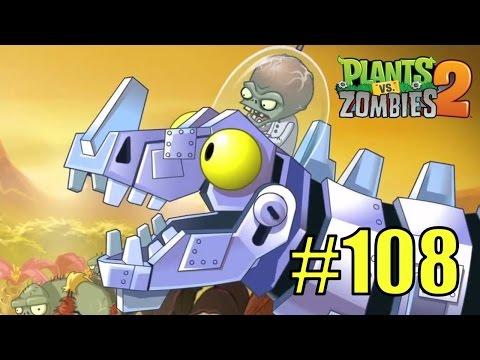 Прохождение Plants vs Zombies 2 - Jurassic Marsh 30-32 - НОВЫЙ ДОИСТОРИЧЕСКИЙ БОСС