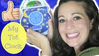 How to Get Your Kids to STAY IN BED! | My Tot Clock: Demo and Review