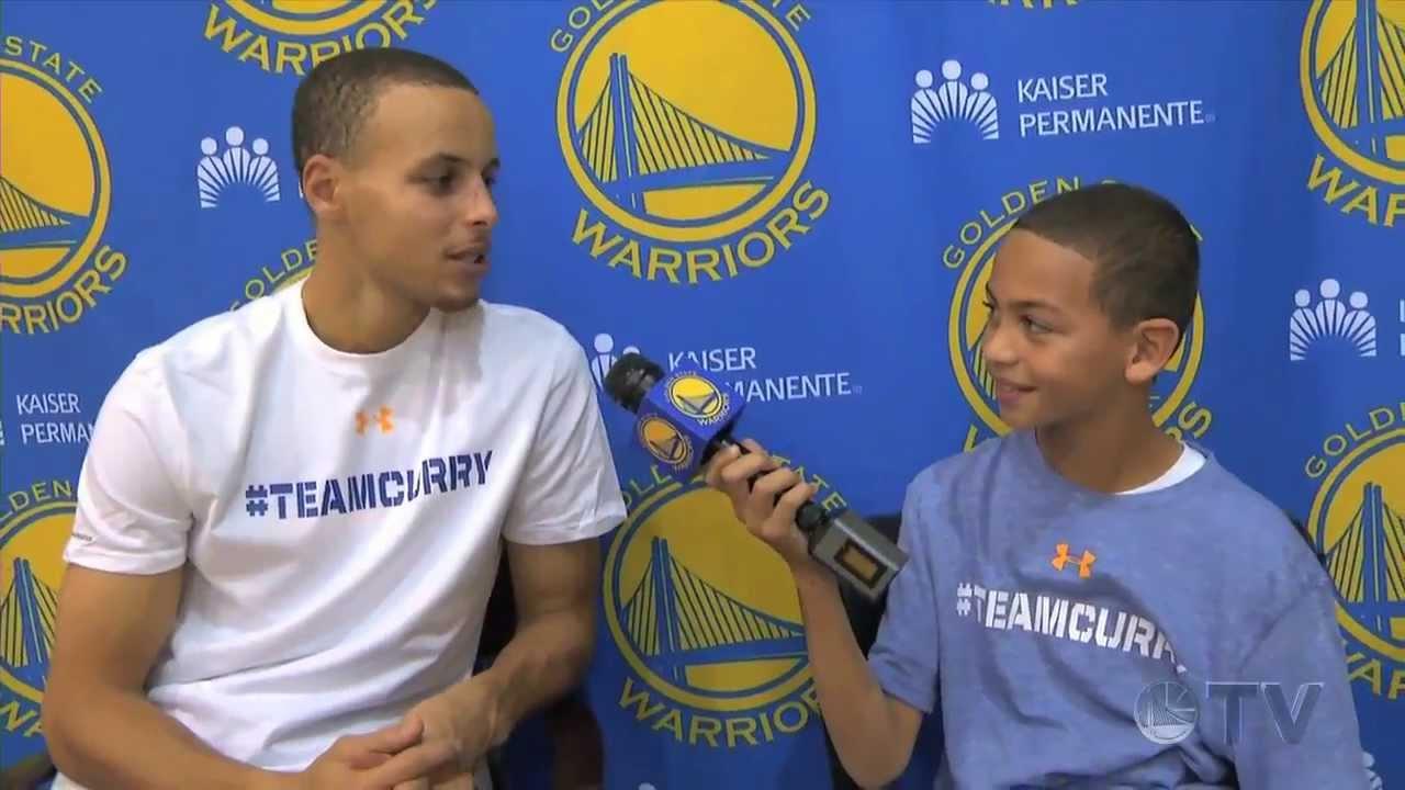 Stephen Curry Kid Kid Warrior Stephen Curry