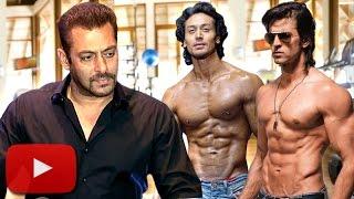 Salman Khan INSECURED Of Hrithik Roshan, Tiger Shroff?   LehrenTV