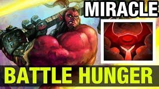 BATTLE HUNGER!!! - Miracle- Axe - Dota 2