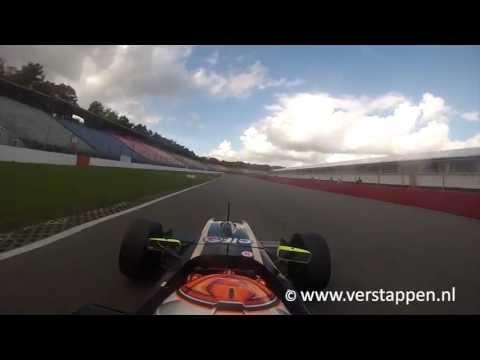 Max Verstappen Onboard Exclusive Footage, KTR Formula Renault 2.0, Hockenheim Dry Track, 10/10/2013