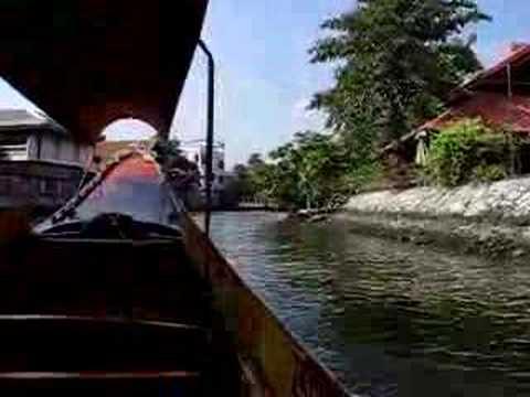 Boat Ride Through Bangkok Klongs