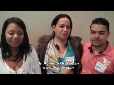 Testimonials for Dr. Kenneth Grossman Stop Smoking Seminars in South America