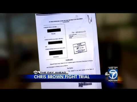 Chris Brown trial