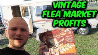 Flea Market Vintage Finds & Profits!!