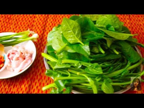 Cooking Healthy Food In Cambodian Family, How To Make Chopped Pork With Sweet Vegetable