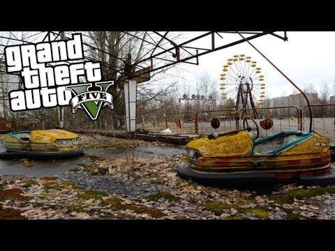GTA 5 Mods | ГОРОД ПРИЗРАК ЧЕРНОБЫЛЬ😱 АПОКАЛИПСИС!