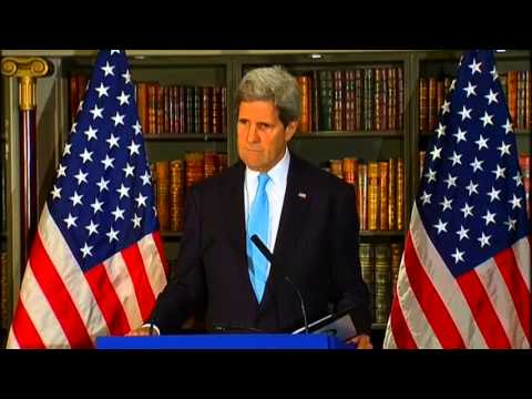 Secretary Kerry Delivers Remarks to the Press on the Situation in Ukraine