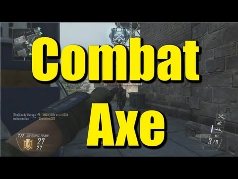 Duke Mode: Combat Axe?! [Call of Duty: Black Ops 2]