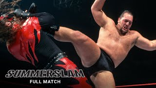 FULL MATCH - Kane & X-Pac vs. Undertaker & Big Show - World Tag Team Titles Match: SummerSlam 1999