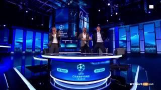 BT Sports Studio LIVE REACTION To Barcelona 6-1 PSG Comeback Goal Sergio Roberto