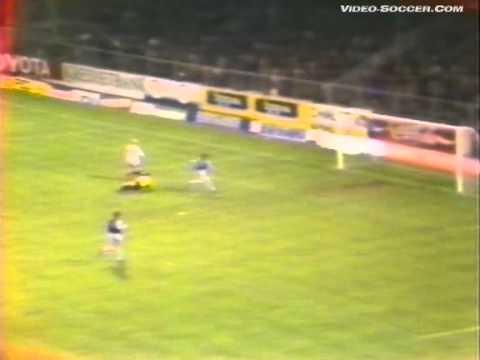 Кубок УЕФА 1985-1986гг.   Брюгге - Спартак   1/16 финала, ответный матч, 2-й тайм