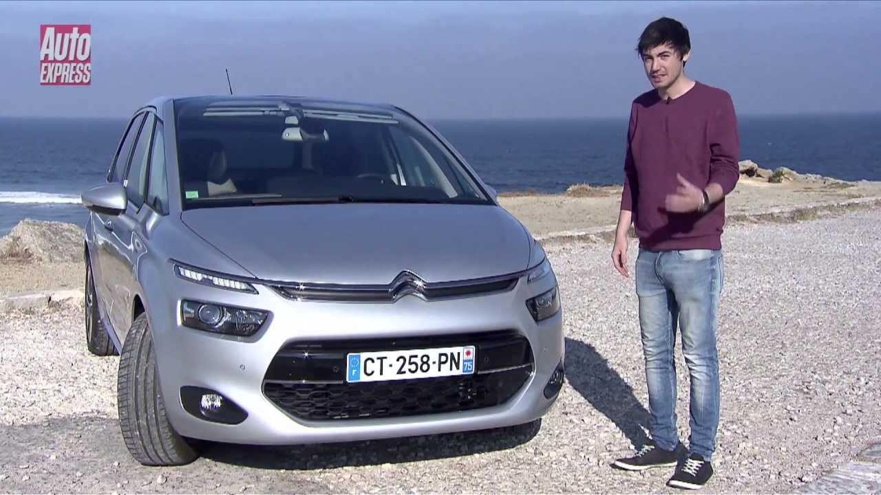 citroen c4 picasso 2013 review auto express youtube. Black Bedroom Furniture Sets. Home Design Ideas