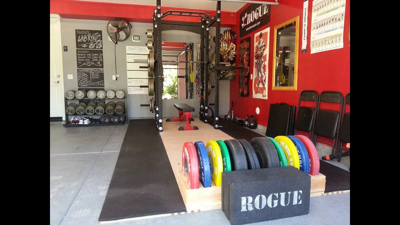 Help me turn my car garage into a gym homegym