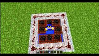 How to make a human cannon in Minecraft 1.2.5/1.3.1/1.3.2