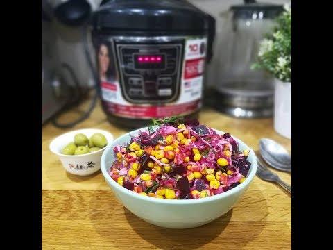 Очень вкусный салат со свеклой I Экономное меню