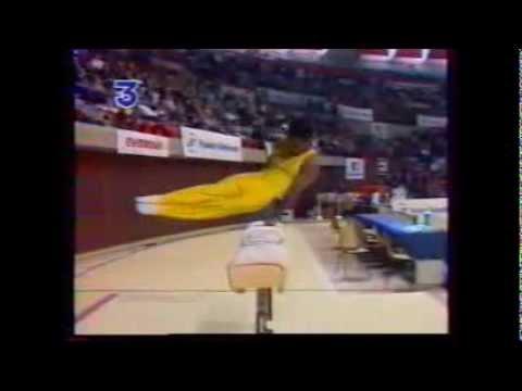 Patrice CASIMIR arçons – 1995 Championnats de France EF