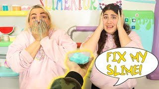 FIX THIS FANS SLIME CHALLENGE! Slimeatory #599.8