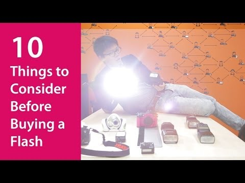 10 Things to Consider Before Buying a Flash