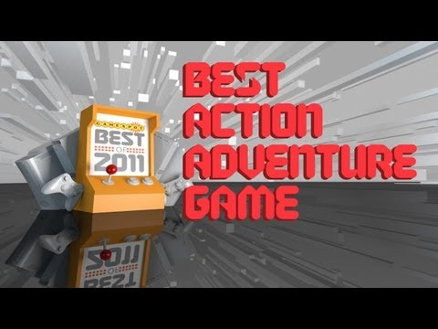 Winner: Best Action Adventure Game of 2011