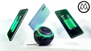 World's first REAL Wireless Charger.