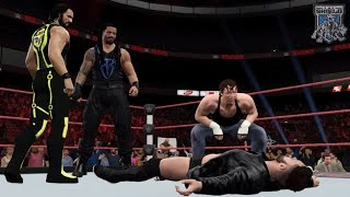 WWE Future Scenario: The Shield Reunites feat. Finn Balor (WWE 2K Custom Story)